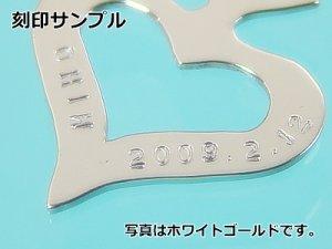 画像2: 刻印できるスペードプレート/K18イエローゴールド